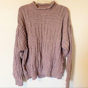 Eddie Bauer | oversized chunky knit sweater XL